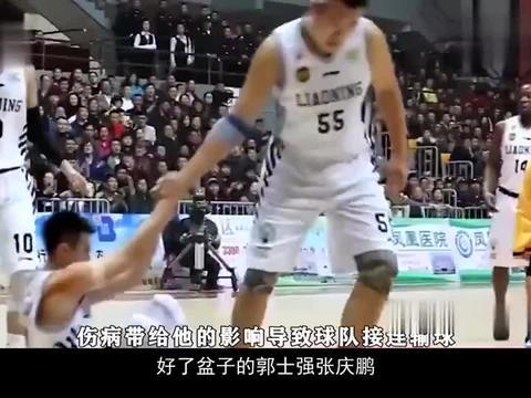 CBA恩怨史2,张庆鹏质疑郭士强,随后被男篮抛弃