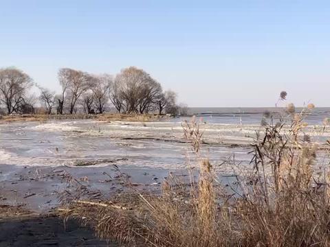 50年只有2次,苏州太湖被冻住了!结冰的太湖有多美?带你去看看