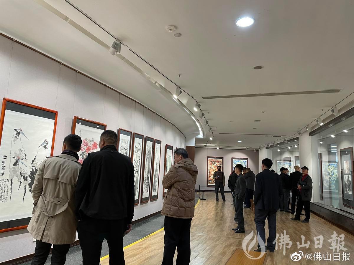 """第九次联展!""""久久为功""""佛山诗书画研究院2021春季艺术提名展开展"""