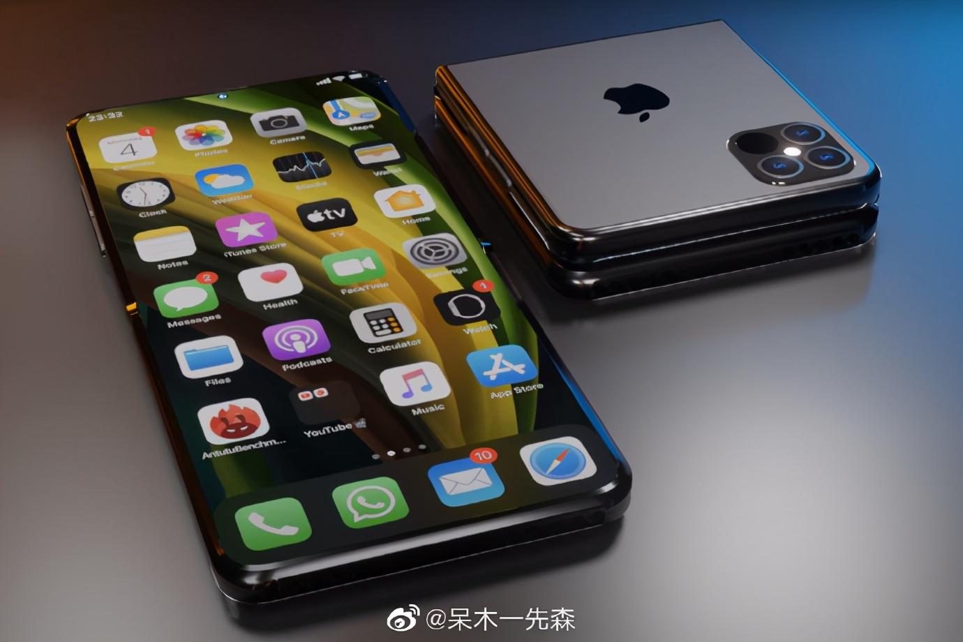iPhone13或将采用屏下指纹!拍手叫绝的折叠机还在研发中