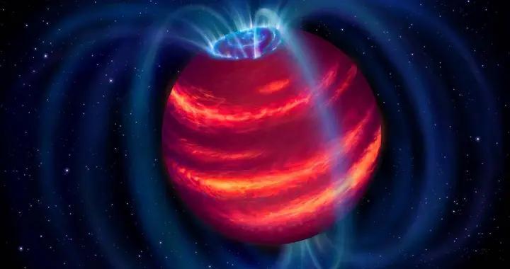"""射电望远镜首次发现微弱的""""超级行星"""""""