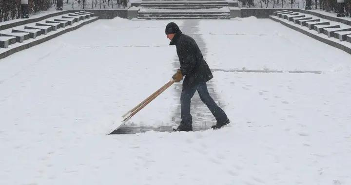 乌克兰基辅今年首次下雪 民众狂欢嗨翻天