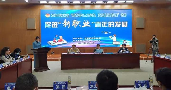 """海南举办""""共青团与人大代表、政协委员面对面""""活动"""