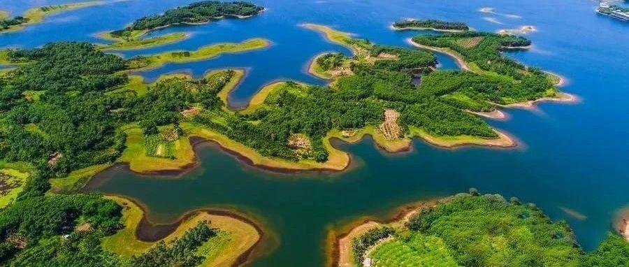 """相约海岛丨比壁纸还美的湖光山色~快来感受""""人在画中游""""的美好体验!"""