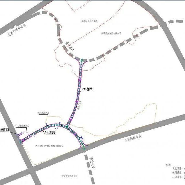 十堰要新修一条路,位置在这儿...