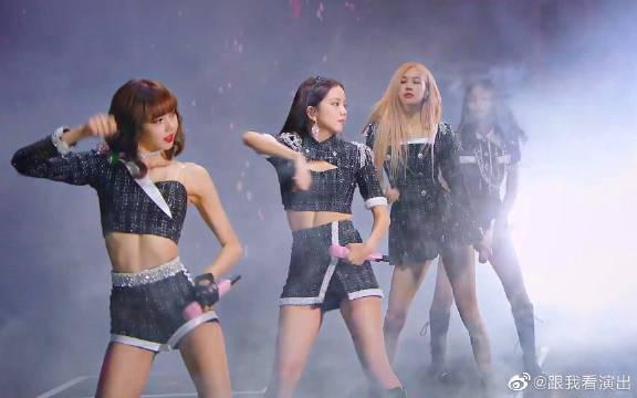 太美了!世界第一美少女(韩国)BLACKPINK 神级现场