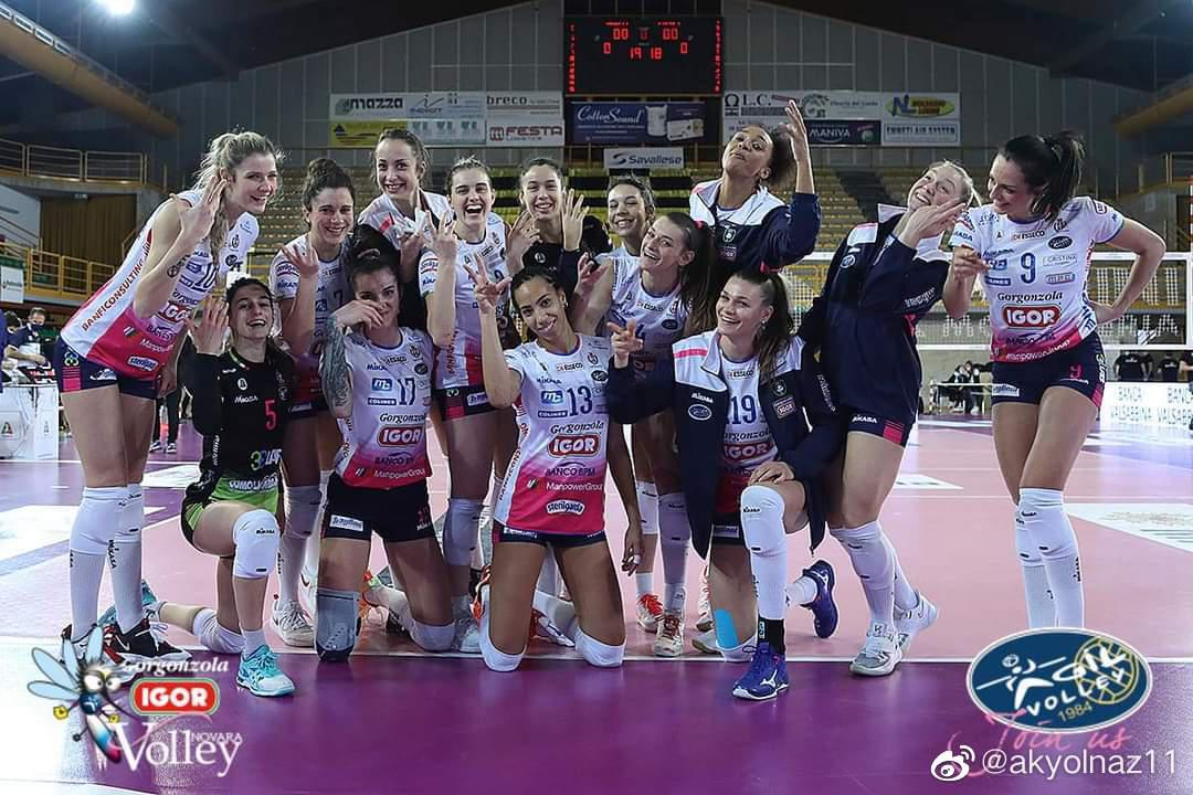 2020-2021赛季意大利女排联赛第十九轮……