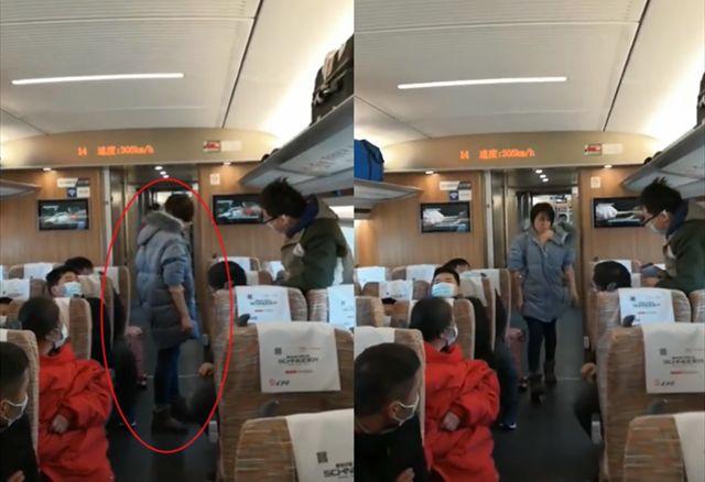 高铁上一女子不戴口罩还殴打乘务员,武汉警方:有精神方面疾病