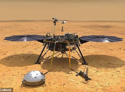 """""""洞察""""号""""鼹鼠""""""""死亡"""",NASA指望它钻土测火星温度"""