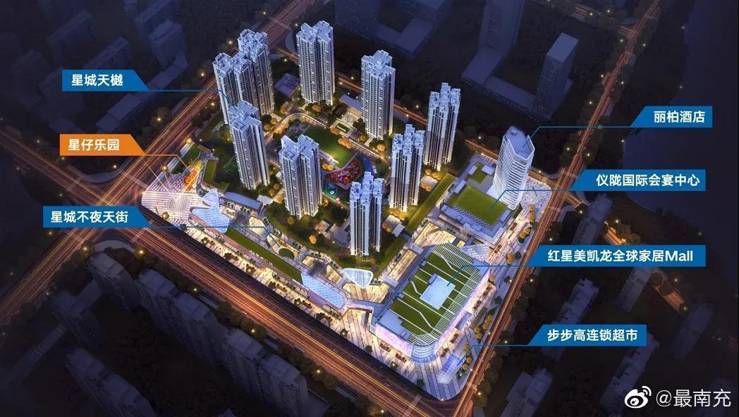 仪陇第十二站:城市商业综合体(红星美凯龙)项目