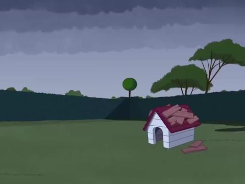 猫和老鼠:三个人太惨了吧,被大雨所折磨,这也太过分了吧