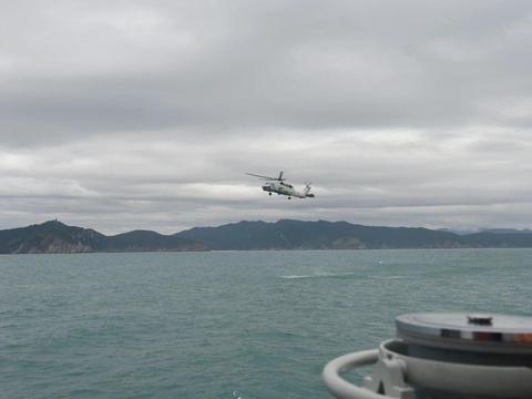 直20反潜型参加大规模海军演习