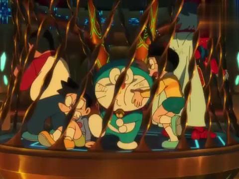 哆啦A梦:预言应验,千兔降临,真是太险了!