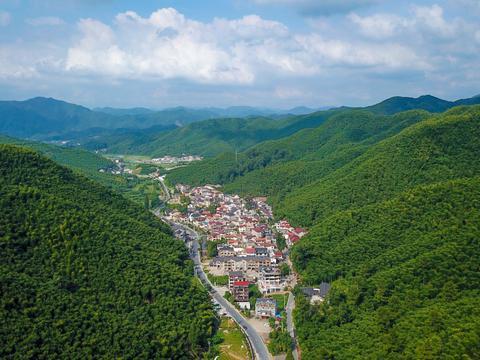 因电影《卧虎藏龙》竹林打戏在此取景,而名声大噪的中国大竹海