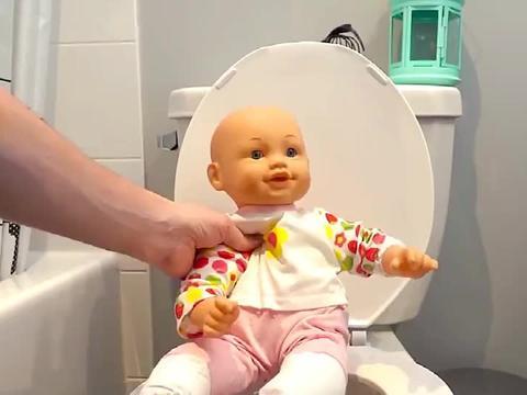 婴儿用的小发明,设计的有点硬核啊,宝宝:我太难了
