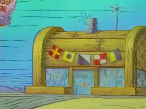 海绵宝宝:在深海里,有一座餐厅,里面有一位著名厨师哦!
