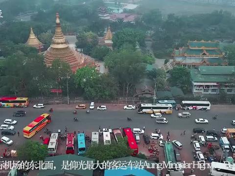 航拍仰光:缅甸故都,和平之城