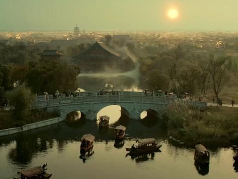"""湖北厉害了,当地影视城是《妖猫传》拍摄地,又名襄阳""""不夜城"""""""
