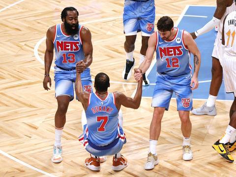 NBA排名:篮网逼近前四,猛龙排名连升,火箭距联盟垫底1.5胜场!
