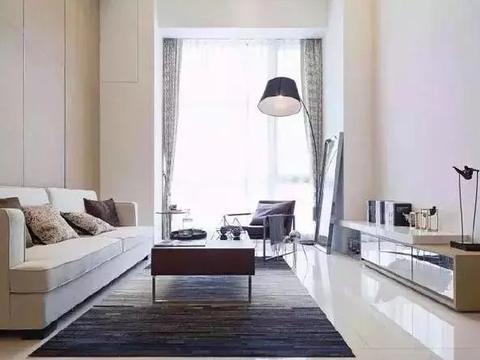 房子只有66平米,单身公寓风格装修,面积虽小但住得很开心