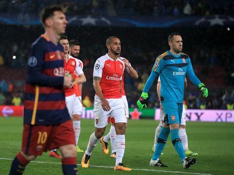 沃尔科特:梅西曾找我交换球衣 阿森纳对于拿到第四很开心
