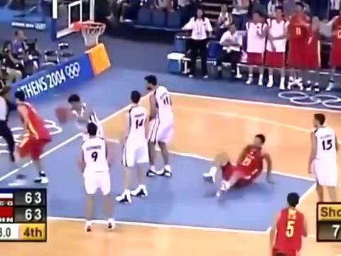 惊魂60秒, 中国男篮击败世界冠军!