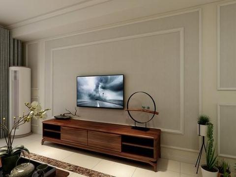 客厅不要傻傻装电视墙了,聪明人装这种更省钱漂亮,后悔才发现