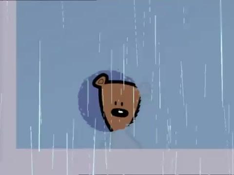 憨豆先生:外面下着大雨,憨豆哪都去不了,只能无聊的在家看电视