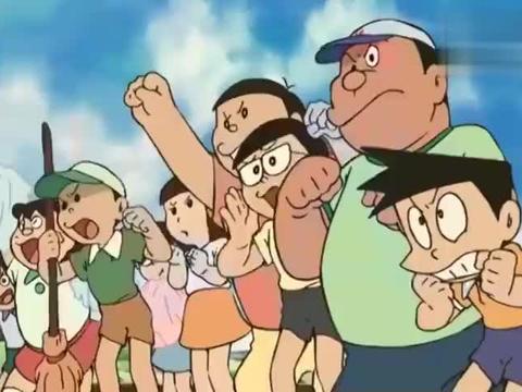 哆啦A梦:魔法世界中,大雄连飞都不会,更别说魔法了!