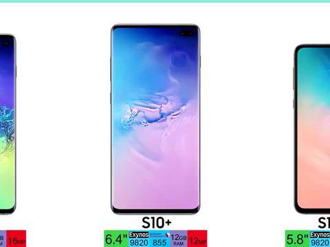 三星 Galaxy S 系列智能手机 S1 - S21 进化史