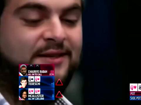 德州扑克:最难受的就是我们两个跟到最后,人家是皇家同花顺