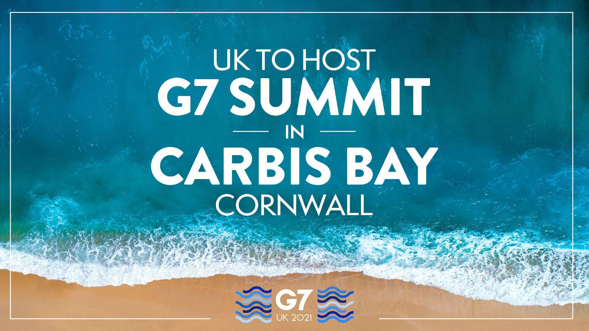 英国首相鲍里斯·约翰逊邀请各国领导人6月前往英国参加G7峰会