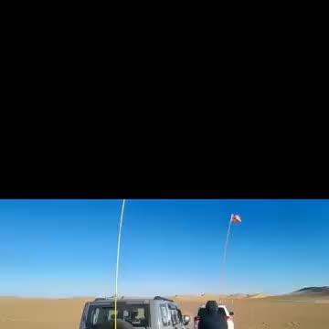 在沙漠坦克300救援三菱帕杰罗劲畅,这车动力真的很不错