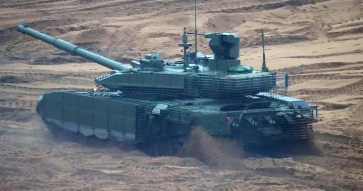 俄新型配有数据交换系统的T-90M坦克成功测试