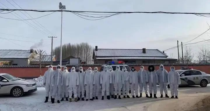 疫情防控,松原市宁江区法院再次出征