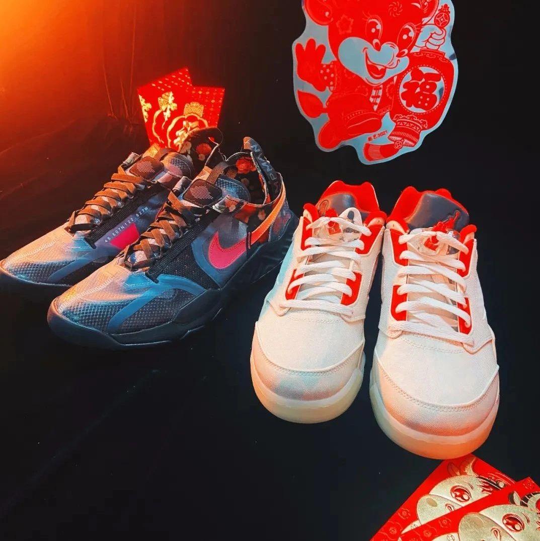 潮鞋速览 | 一次性开箱多双 CNY 主题鞋款,今年大家玩起了哪些新年元素?