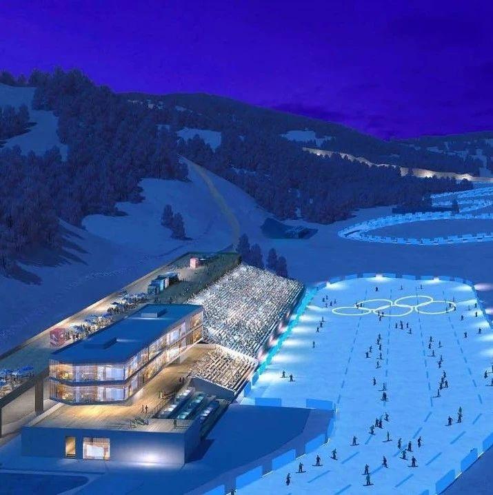《冬奥场馆巡礼》系列第14集:蜿蜒于长城脚下的国家越野滑雪中心