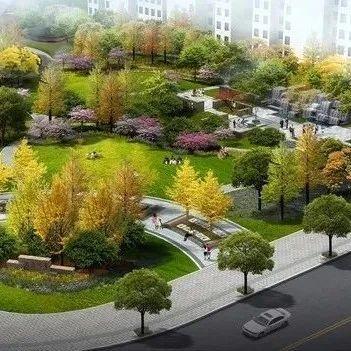 今年襄阳新增五个口袋公园