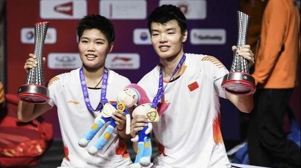 """羽毛球运动员王懿律和黄东萍,为什么叫""""黄鸭组合""""?"""