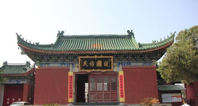 河南一座布局严谨、多次扩建的寺庙,古代曾深得皇家尊崇