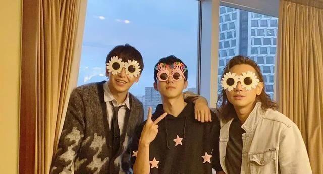 彭昱畅庆祝刘昊然:两人和吴磊王嘉尔王一博是同一组的成员