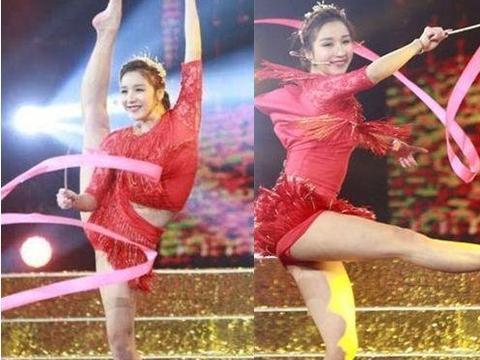 体操女神因一字马爆红,与宁泽涛传绯闻,如今25岁想嫁外国人