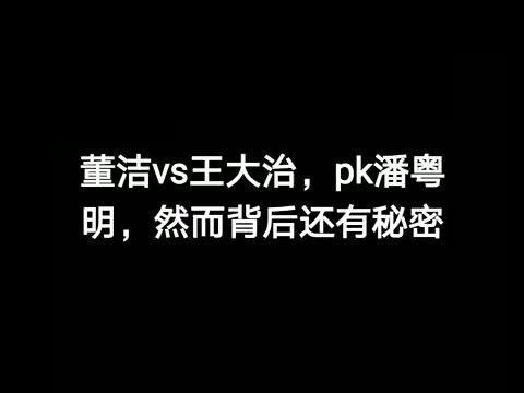 """董洁与潘粤明离婚,因为王大治""""还是""""梁朝伟?"""