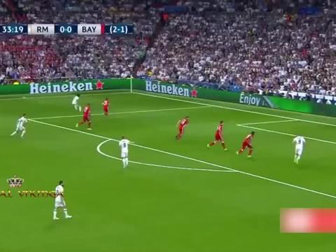 欧冠半决赛,皇马大战拜仁,C罗巅峰表演实力控场