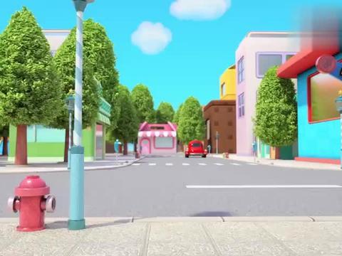 百变校巴:路上出现小猫,歌德紧急刹车,阿普的水晶球飞了出去
