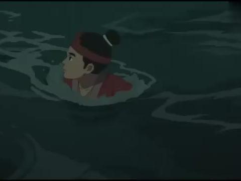 大鱼海棠:天空出现异象,鲲也受了重伤,女孩不知如何是好!