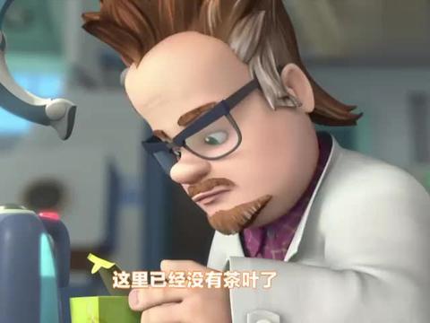 螺丝钉:甜菜头教授懒到家了,泡个茶还得用机械手,真是没谁了