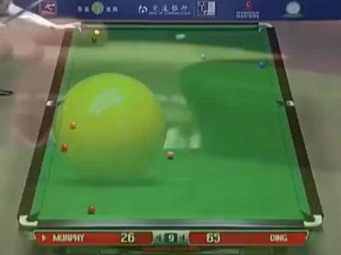 13年斯诺克上海大师赛,丁俊晖和墨菲,4比4决胜局