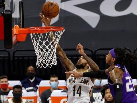 NBA比分:福克斯生涯新高成空砍 锡安15中13率鹈鹕险胜国王