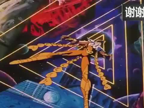圣斗士:海将军加隆的绝技黄金三家异次元,一辉毫无反击之力